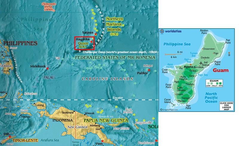MapGuampng - Pacific ocean depth map