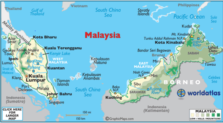 how to call brunei from malaysia